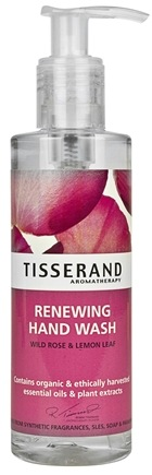 DROPPED: Tisserand Aromatherapy - Hand Wash Renewing Wild Rose & Lemon Leaf - 6.6 oz. CLEARANCE PRICED