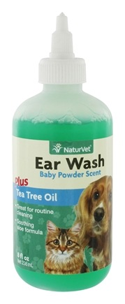 DROPPED: NaturVet - Ear Wash With Tea Tree Oil - 8 oz.