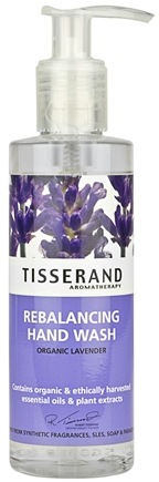 DROPPED: Tisserand Aromatherapy - Hand Wash Rebalancing Organic Lavender - 6.6 oz. CLEARANCE PRICED