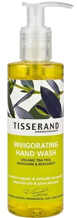DROPPED: Tisserand Aromatherapy - Hand Wash Invigorating Organic Tea-Tree, Mandarin & Bergamot - 6.6 oz. CLEARANCE PRICED