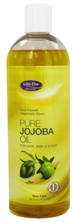 DROPPED: Life-Flo - Pure Jojoba Oil Cold Pressed - 16 oz. CLEARANCE PRICED