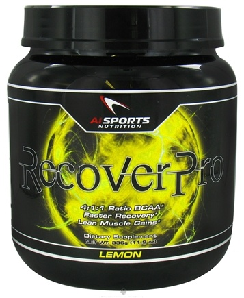 DROPPED: AI Sports Nutrition - RecoverPro Lemon - 336 Grams CLEARANCE PRICED
