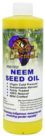 Zoom View - Neem Seed Oil