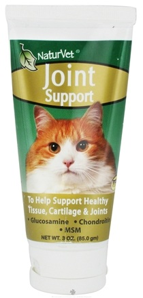 DROPPED: NaturVet - Joint Support Gel For Cats - 3 oz. CLEARANCE PRICED
