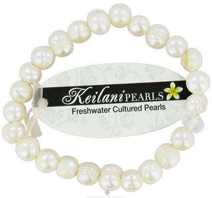 DROPPED: Zorbitz - Keilani Pearls Bracelet Blessings Plain White - CLEARANCE PRICEED