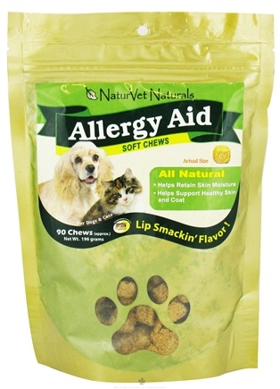 DROPPED: NaturVet - Allergy Aid Soft Chews - 90 Chew(s) CLEARANCE PRICED