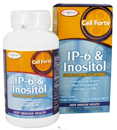 DROPPED: Enzymatic Therapy - Cell Forte With IP6 & Inositol - 60 Chewable Tablets CLEARANCE PRICED
