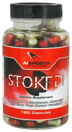 DROPPED: AI Sports Nutrition - Stoked - 120 Capsules CLEARANCE PRICED