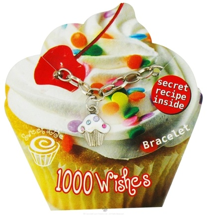 DROPPED: Zorbitz - Sweet Life Cupcake Bracelet 1000 Wishes - CLEARANCE PRICED