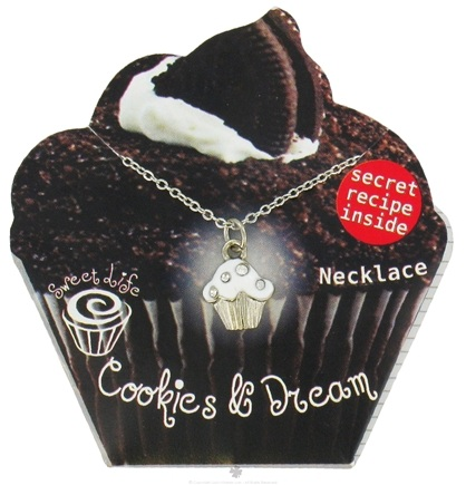 DROPPED: Zorbitz - Sweet Life Cupcake Necklace Cookies & Dream - CLEARANCE PRICED