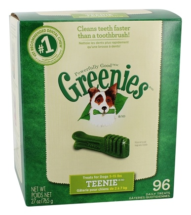 DROPPED: Greenies - Dental Chews For Dogs Teenie (For Dogs 5-15 lbs.) - 96 Chews CLEARANCE PRICED