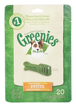 Zoom View - Dental Chews For Dogs Petite (For Dogs 15-25 lbs.)