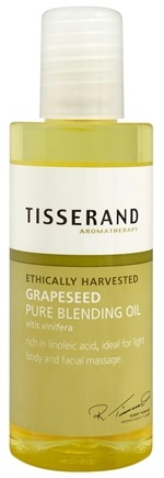DROPPED: Tisserand Aromatherapy - Pure Blending Oil Grapeseed Ethically Harvested - 3.3 oz.