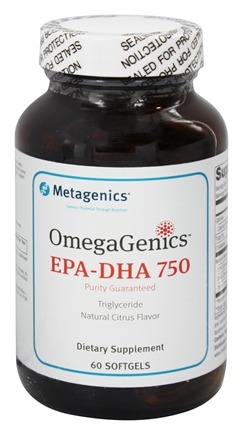 Metagenics - OmegaGenics EPA-DHA 750 - 60 Softgels (formerly EPA-DHA 750)