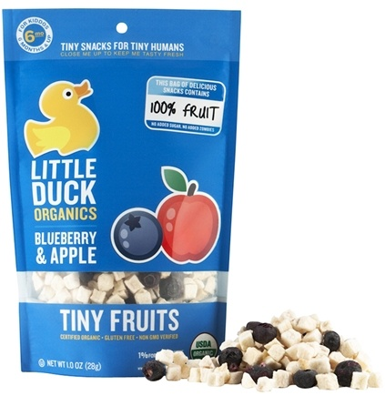 DROPPED: Little Duck Organics - Blueberry Apple Tiny Fruit - 1 oz.