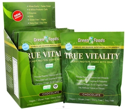 Zoom View - True Vitality Plant Protein Shake with DHA