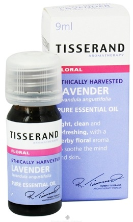 DROPPED: Tisserand Aromatherapy - Pure Essential Oil Lavender Ethically Harvested Floral - 0.32 oz. CLEARANCE PRICED