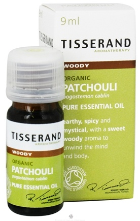 DROPPED: Tisserand Aromatherapy - Pure Essential Oil Patchouli Organic Woody - 0.32 oz.