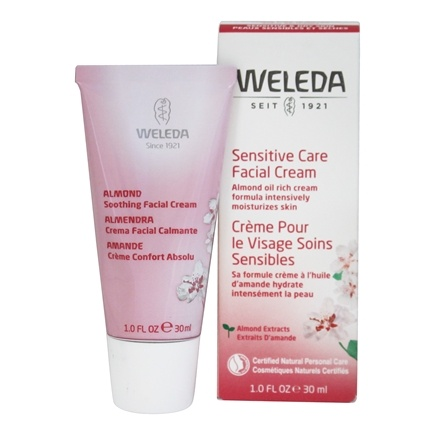 Almond Soothing Facial Cream Fragrance-Free - 1 fl. oz. by Weleda (pack of 3) Clean And Clear Advantage Oil-Absorbing Cream Cleanser - 5 Oz, 6 Pack