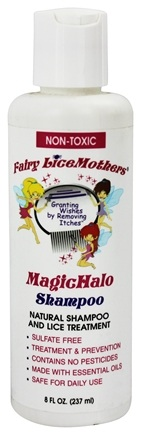 DROPPED: Fairy LiceMothers - MagicHalo Natural Shampoo and Lice Treatment Non-Toxic - 8 oz.