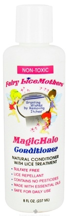 DROPPED: Fairy LiceMothers - MagicHalo Natural Conditioner and Lice Treatment Non-Toxic - 8 oz. CLEARANCE PRICED