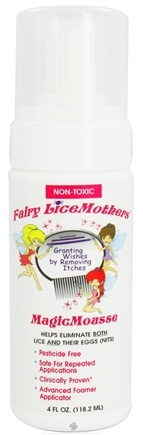 DROPPED: Fairy LiceMothers - MagicMousse Natural Lice Treatment Non-Toxic - 4 oz. CLEARANCE PRICED