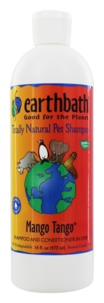 DROPPED: Earthbath - Pet Shampoo & Conditioner Mango Tango - 16 oz.