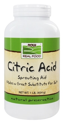 NOW Foods - Citric Acid - 1 lb.