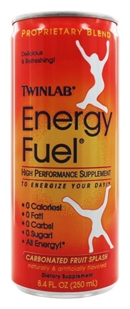 Twinlab - Energy Fuel High Performance RTD Fruit Splash - 8.4 oz.