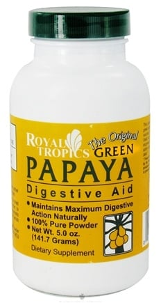 DROPPED: Royal Tropics - The Original Green Papaya Digestive Aid - 5 oz. CLEARANCE PRICED