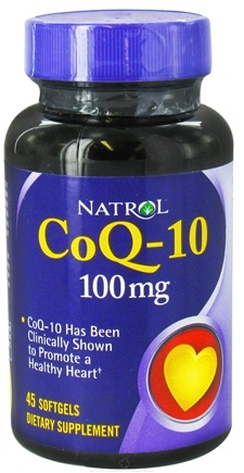 DROPPED: Natrol - CoQ-10 100 mg. - 45 Softgels CLEARANCE PRICED