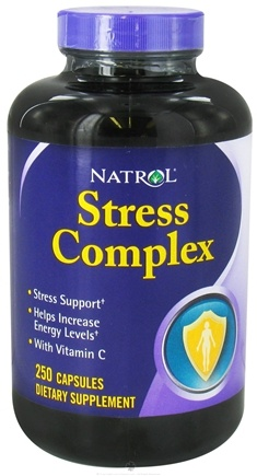DROPPED: Natrol - Stress Complex - 250 Capsules CLEARANCE PRICED