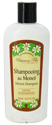 DROPPED: Monoi Tiare Tahiti - Monoi Shampoo Sandalwood - 8.45 oz. CLEARANCE PRICED