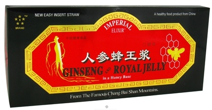 DROPPED: Imperial Elixir - Ginseng & Royal Jelly Extract - 10 Bottle(s) CLEARANCE PRICED