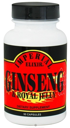 DROPPED: Imperial Elixir - Ginseng & Royal Jelly - 50 Capsules CLEARANCE PRICED