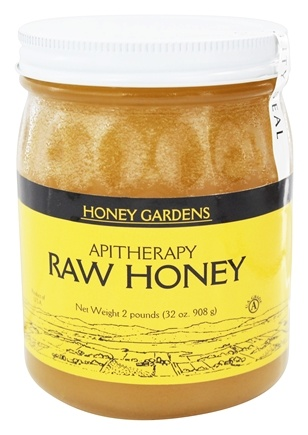 Honey Gardens Apiaries - Apitherapy Raw Honey - 2 lbs.