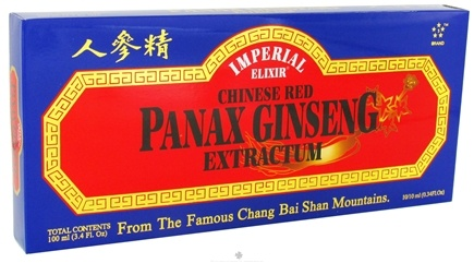 DROPPED: Imperial Elixir - Chinese Red Panax Ginseng Extractum - 10 Bottle(s) CLEARANCE PRICED