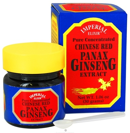 DROPPED: Imperial Elixir - Chinese Red Panax Ginseng Extract Pure Concentrate - 1.06 oz. CLEARANCE PRICED