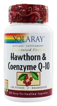 Zoom View - Hawthorn & Coenzyme Q-10 Guaranteeed Potency