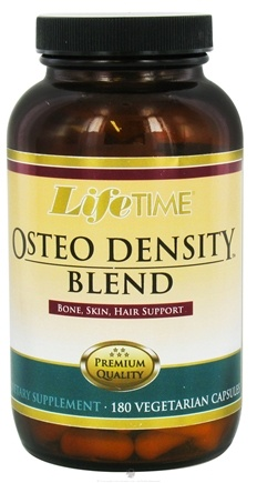 DROPPED: LifeTime Vitamins - Osteo Density Blend - 180 Vegetarian Capsules CLEARANCE PRICED