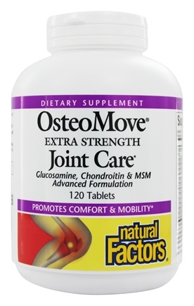 Natural Factors - OsteoMove Joint Care Extra Strength - 120 Caplets