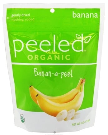 DROPPED: Peeled Snacks - Organic Fruit Picks Banan-a-peel - 4 oz. CLEARANCE PRICED
