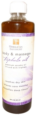 DROPPED: Himalayan Chandra - Triphala Oil - 16 oz.
