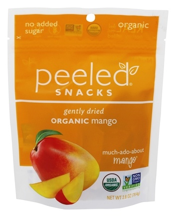 Peeled Snacks - Organic Fruit Picks Much-Ado-About-Mango - 2.8 oz.