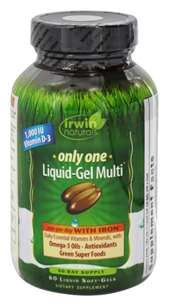 Zoom View - Only One Liquid-Gel Multi with Iron