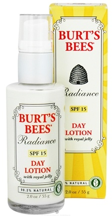 DROPPED: Burt's Bees - Radiance Day Lotion with Royal Jelly 15 SPF - 2 oz.