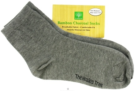 DROPPED: The Healing Tree - Bamboo Charcoal Socks Fits Women's Shoe Sizes 5-11