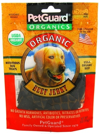 Zoom View - Organic Beef Jerky For Dogs