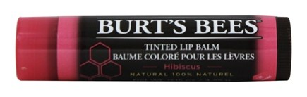 DROPPED: Burt's Bees - Tinted Lip Balm Hibiscus - 0.15 oz.