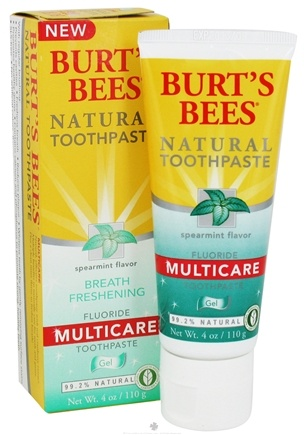 Zoom View - Natural Toothpaste Multicare Gel with Fluoride
